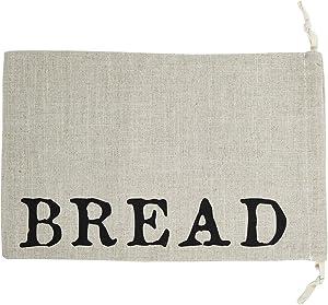 Santa Barbara Design Studio Table Sugar Linen Drawstring Bread Bag, 11 x 17-Inches, Large