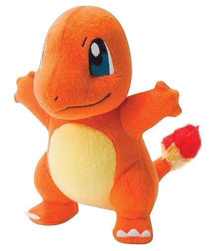 amazon com pokémon small plush charmander toys games