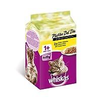 Whiskas Bolsitas para Gatos, Platitos Del Día, Carne Blanca en Salsa - 300 gr