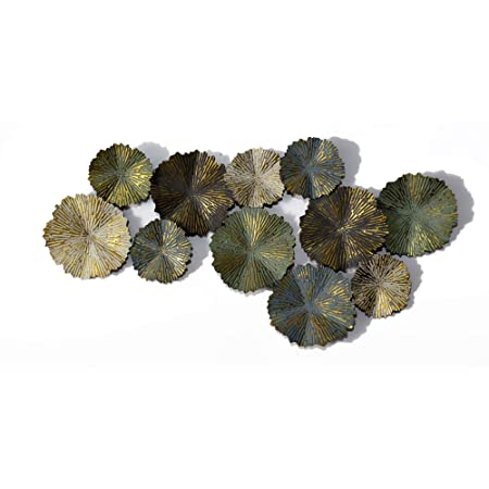 b181aed278 Inhouse Matt Finish Sun Burst Circles Extra Large Metal Wall Art Sculpture  Wall Decor and Hanging