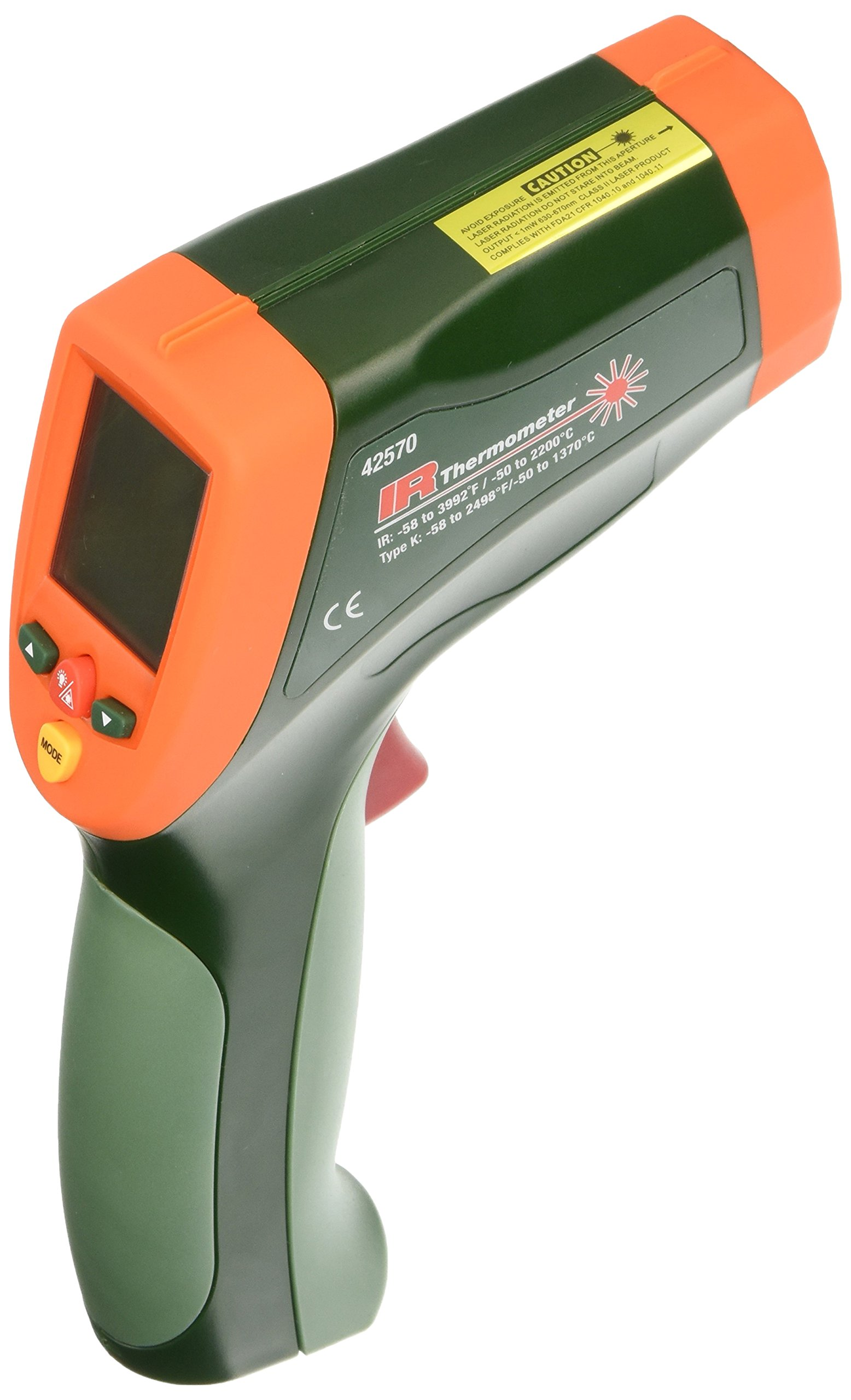 Extech 42570 Dual Laser Infrared Thermometer by Extech