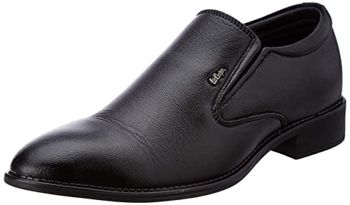 Lc1474eblack Leather Formal Shoes