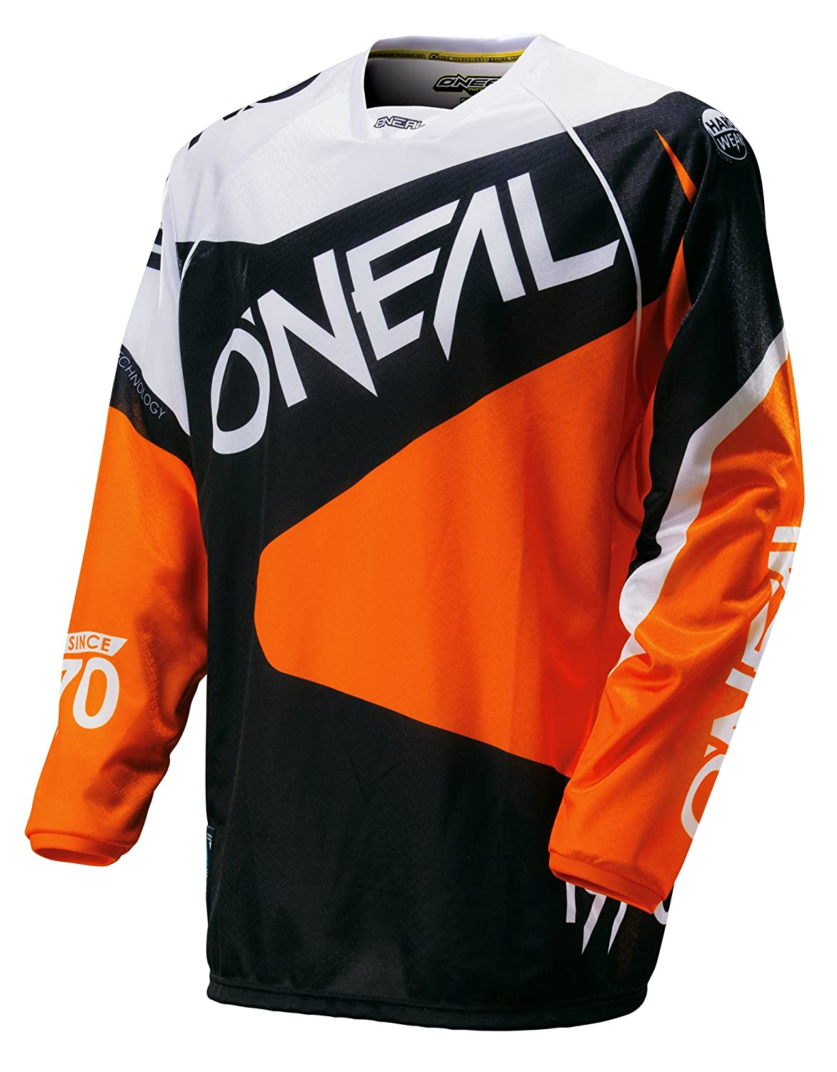 Black//Red, Small ONeal HW Flow Jersey