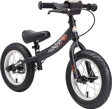 Bikestar Bicicleta de Equilibrio para Correr con Caballete Lateral ...