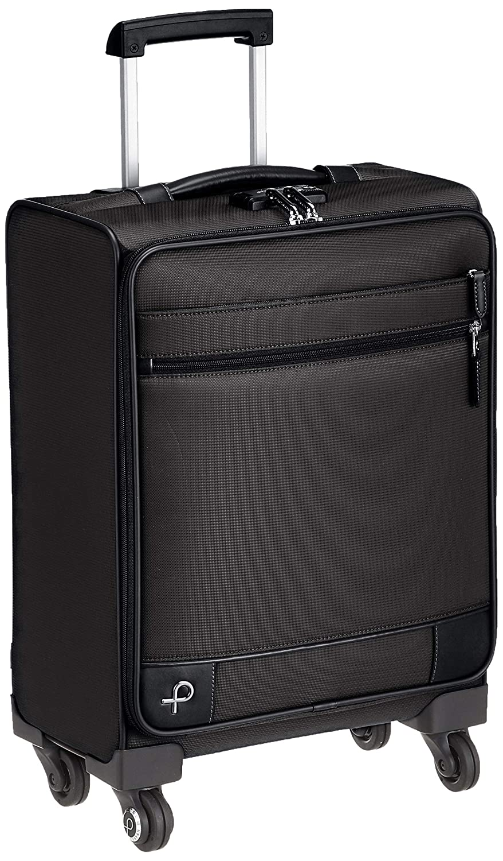 [プロテカ] スーツケース 日本製 ソリエ3 キャスターストッパー付 TSAダイヤルファスナーロック 可(国際線、国内線100席以上、3辺合計115cm以内) 31L 45 cm 2.6kg B07N94YCLC ブラック
