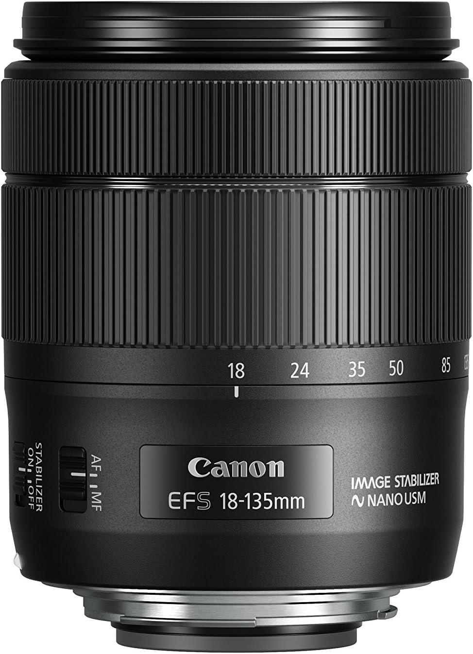 Canon 1276C005 EF-S 18-135mm f/3.5-5.6 IS USM: Amazon.es: Electrónica