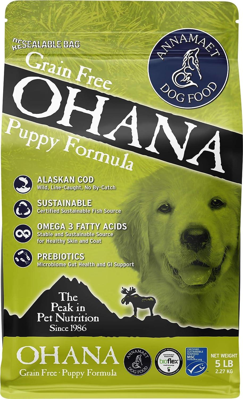 Annamaet Grain-Free Ohana Puppy Formula Dry Dog Food, (Line-Caught Cod & Whitefish)