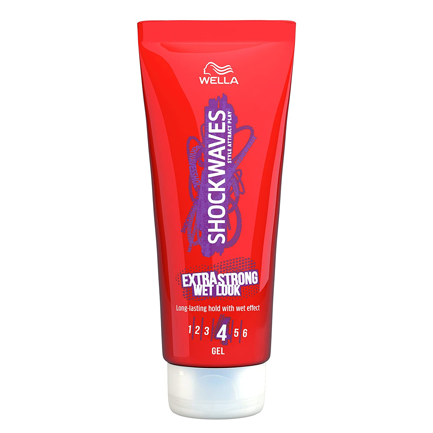 Wella Shockwaves Extra Strong Wet Look Gel 200 ml Procter & Gamble 100684112