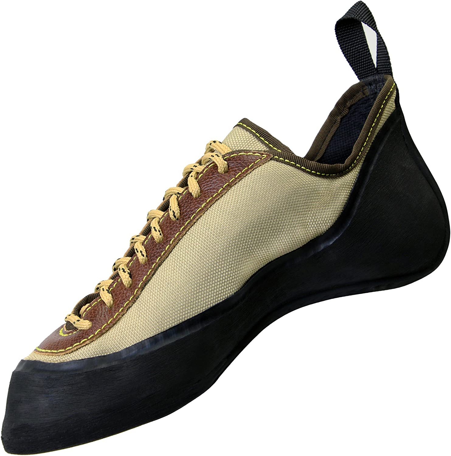 ALPIDEX Leather Climbing shoes with laces for women and men symmetrical available in sizes 36-49