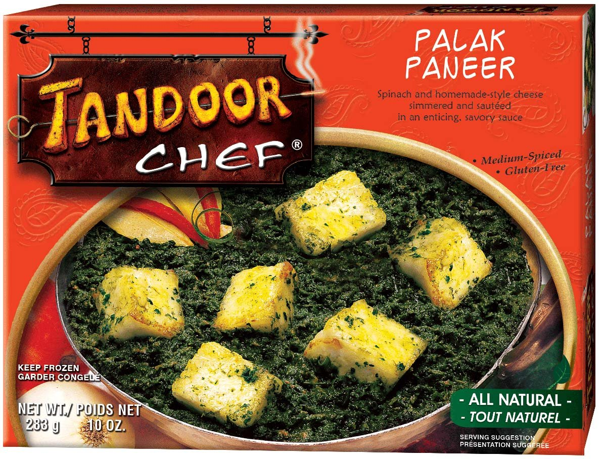 Tandoor Chef Palak Paneer, 10-Ounce Boxes (Pack of 12) by Tandoor Chef