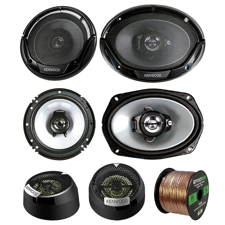Car Speaker System >> 3 Pair Car Speaker Package Of 2x Kenwood Kfc1665s 6 5 2 Way Audio Speaker Bundle Combo With 2x 6965s 6x9 400w 3 Way Speaker 2x 1 Inch 160 Watt Dome