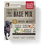 Honest Kitchen The Grain Free Veggie, Nut & Seed Base Mix Recipe for Dogs, 7lb box