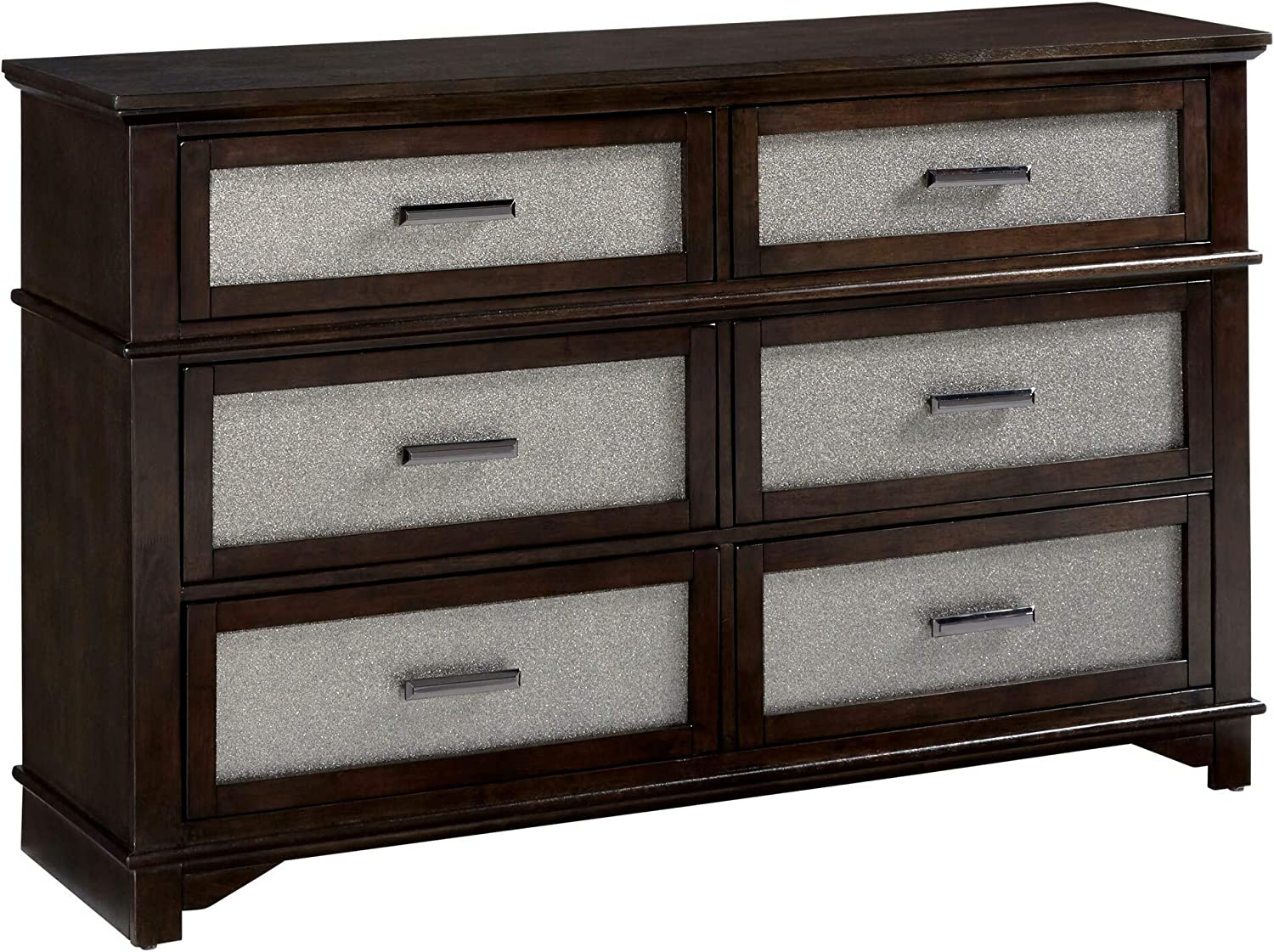 Progressive Furniture Dresser, Brown
