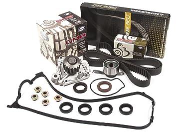 Evergreen tbk224mvc Honda Civic EX SL 1,6 SOHC Correa de distribución Kit Válvula Junta para cubierta GMB Bomba de agua: Amazon.es: Coche y moto