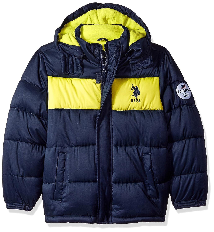 U.S. Polo Assn. Boys' Sporty Bubble Jacket US Polo Association O_UD69H