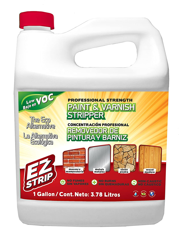 EZ Strip Professional Strength Paint & Varnish Stripper 1 Gallon 873853007102