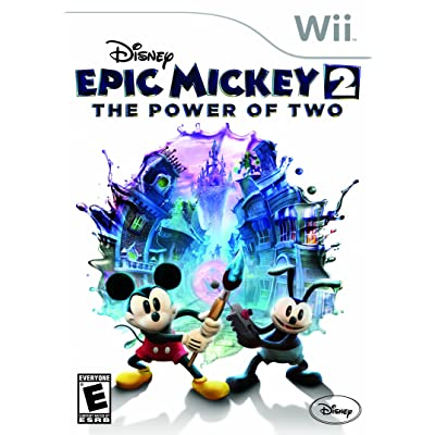 Disney Epic Mickey 2: The Power of Two - Nintendo Wii: Disney Interactive Distri: Video Games [5Bkhe1101303]