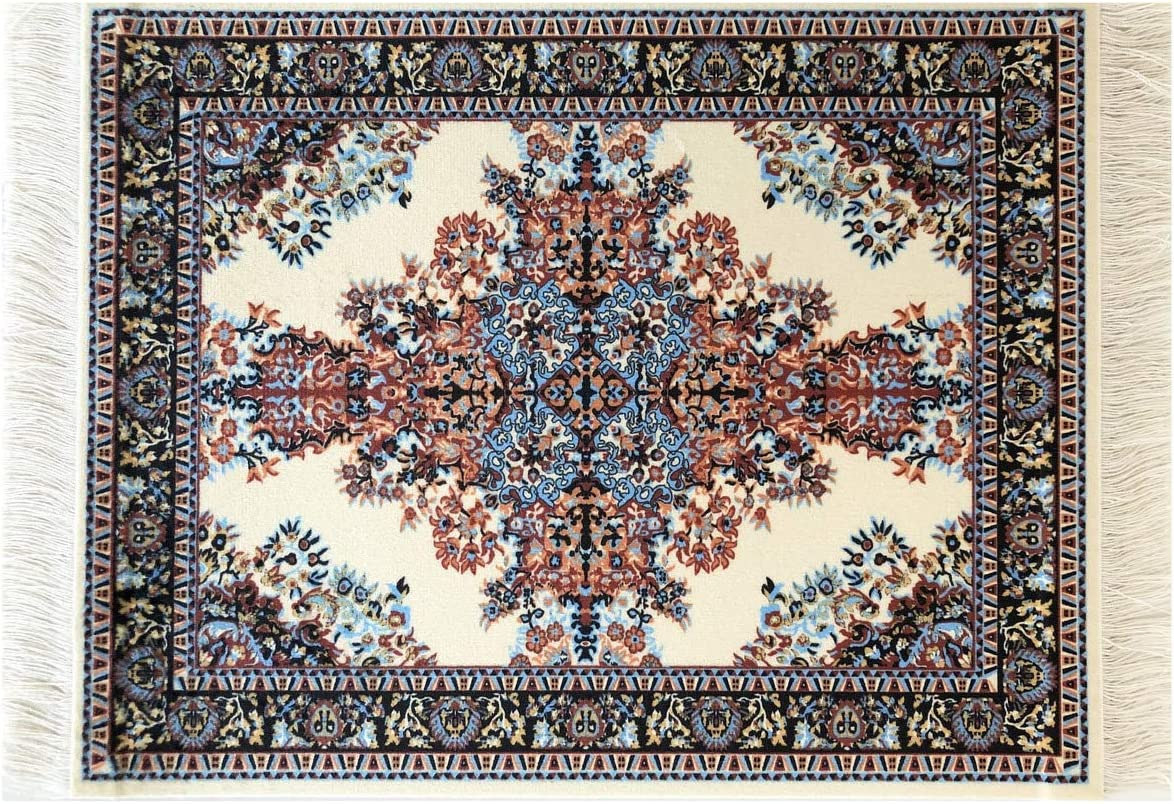 Top Oriental Rug Mouse Pad - Turkish Style Carpet Mousemat – Great Gift