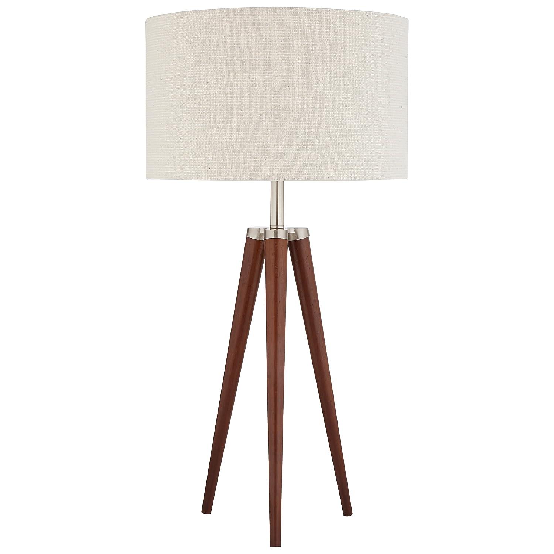 Stone & Beam Modern Tripod Table Lamp, 27.75