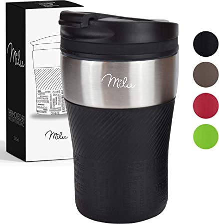 tazas de caf/é expreso Tazas de caf/é tazas de acero inoxidable cocina reutilizable acero inoxidable gris aislamiento de calor para el hogar doble pared