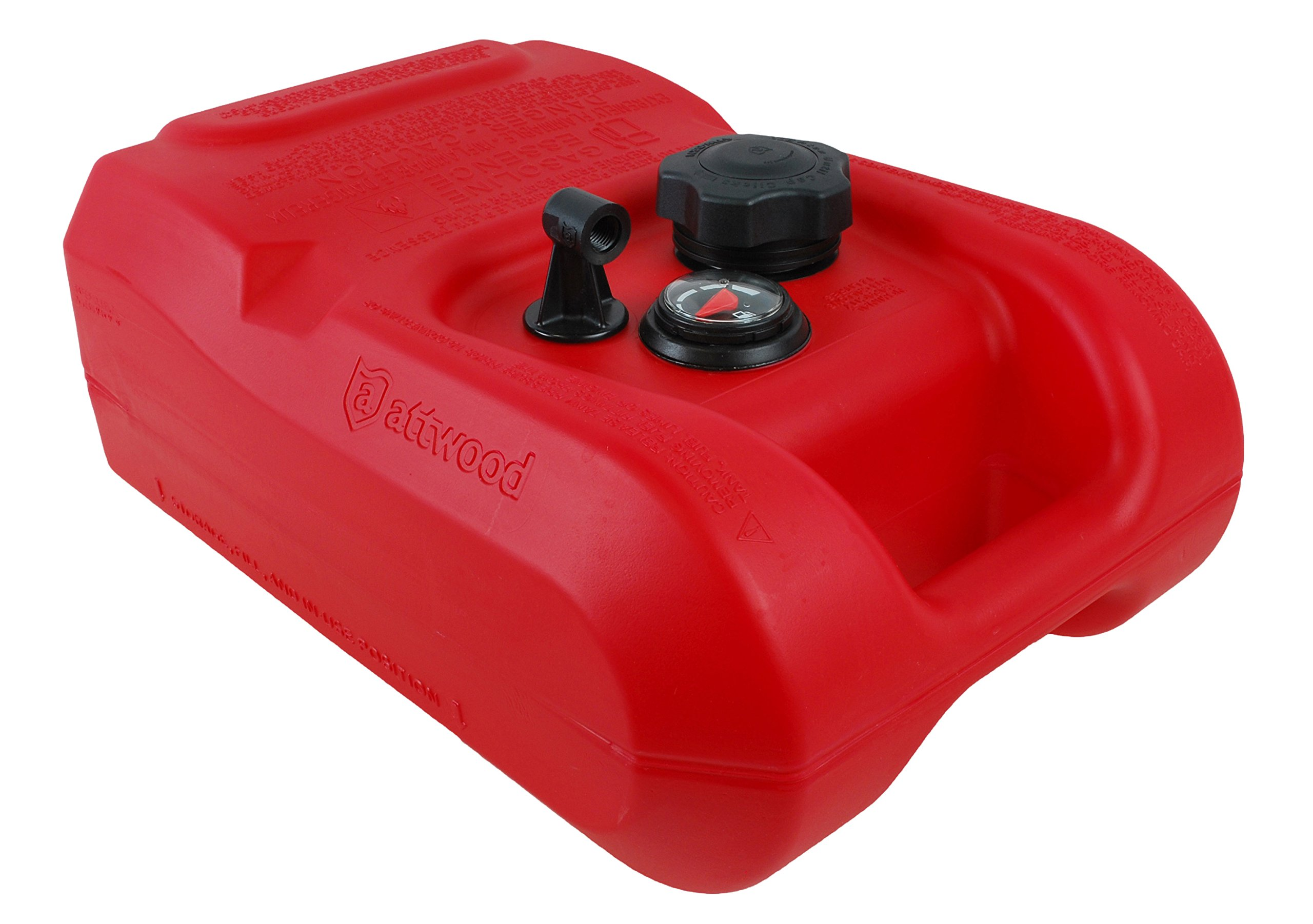 attwood 8803LPG2 Epa Certified 3 gallon Portable Fuel Tank with Gauge