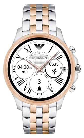 ada267818ee4 Emporio Armani Reloj Hombre de Digital con Correa en Acero Inoxidable  ART5001  Amazon.es  Relojes