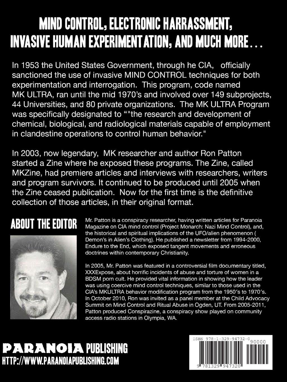 Mind control techniques - Mkzine The Definitive Collection Ron Patton 9781329947320 Amazon Com Books