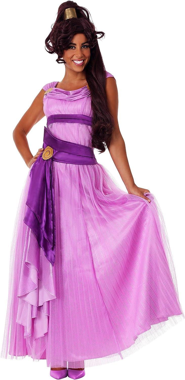 Details about  /Disney Megara Princess Hercules Wife Meg adult princess dress Cosplay Costume~~