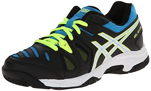 the latest e68ad 7cb48 ASICS GEL Game 5 GS Tennis Shoe (Little Kid Big Kid),Onyx