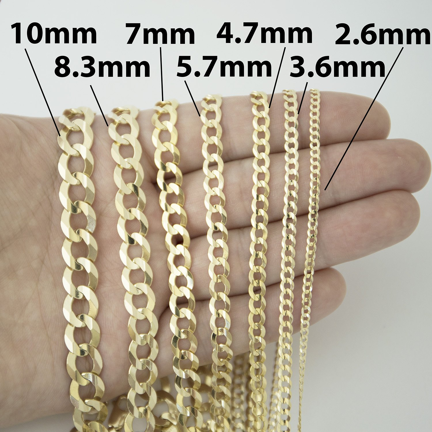 necklace cut n men womens itm chain gold yellow real diamond wide rope