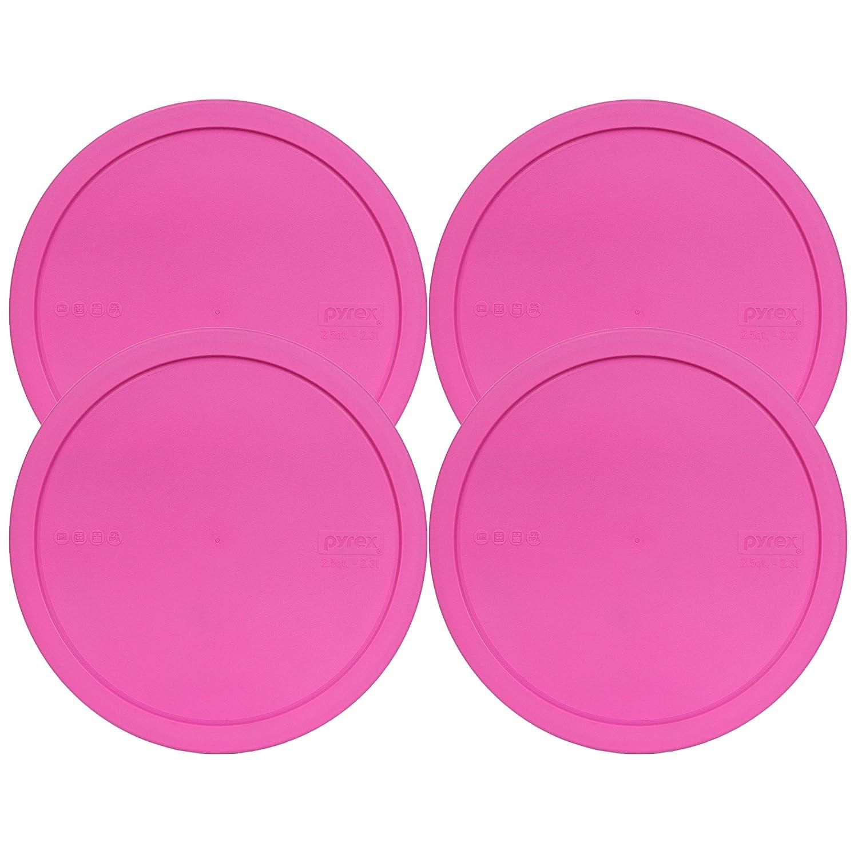 Pyrex 325-PC 1112659 2.5qt Pink Lid (4-Pack)