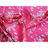 Telas de brocado de seda China Oriental PRESTIGE dragón, dragones chinos vestido, boda,