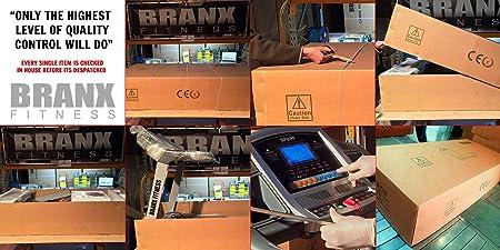 BRANX FITNESS 23kph 6.5hp 0 22% Auto Incline Foldable Elite ...