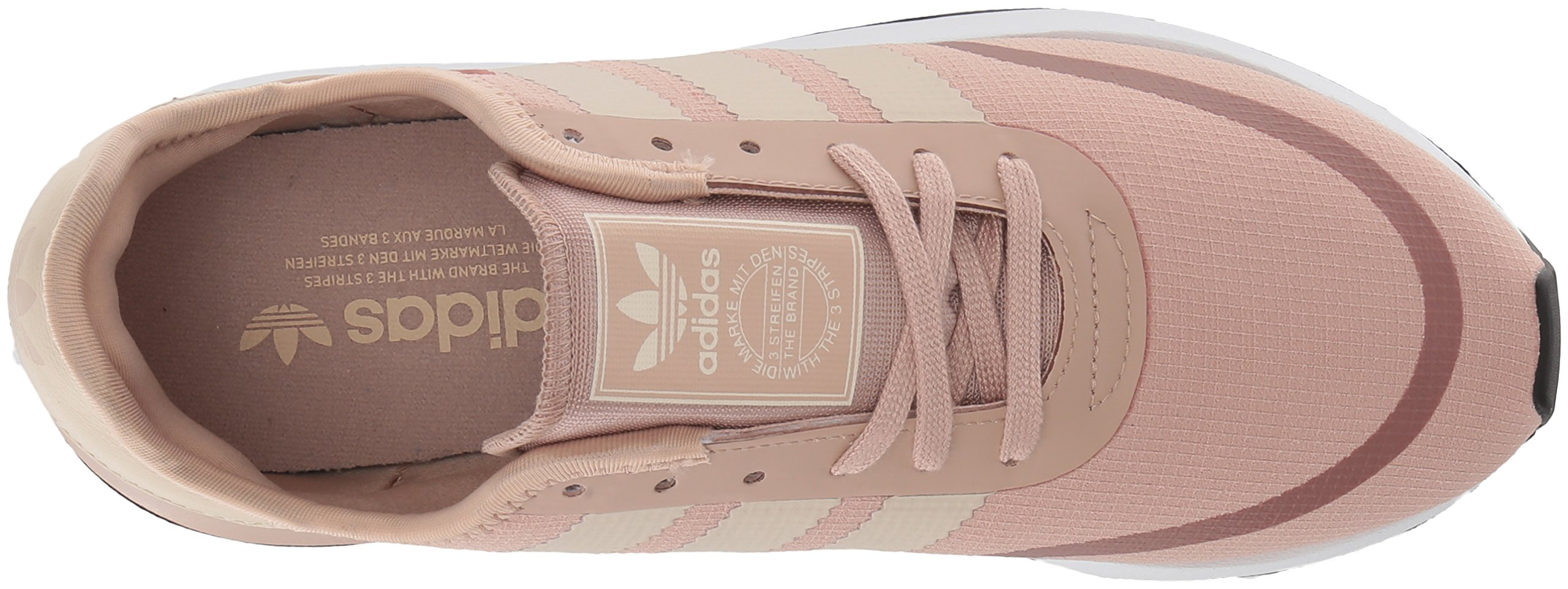 adidas Originals Women's Iniki Runner CLS W, Ash Pearl/Linen/White, 5 M US by adidas Originals (Image #7)