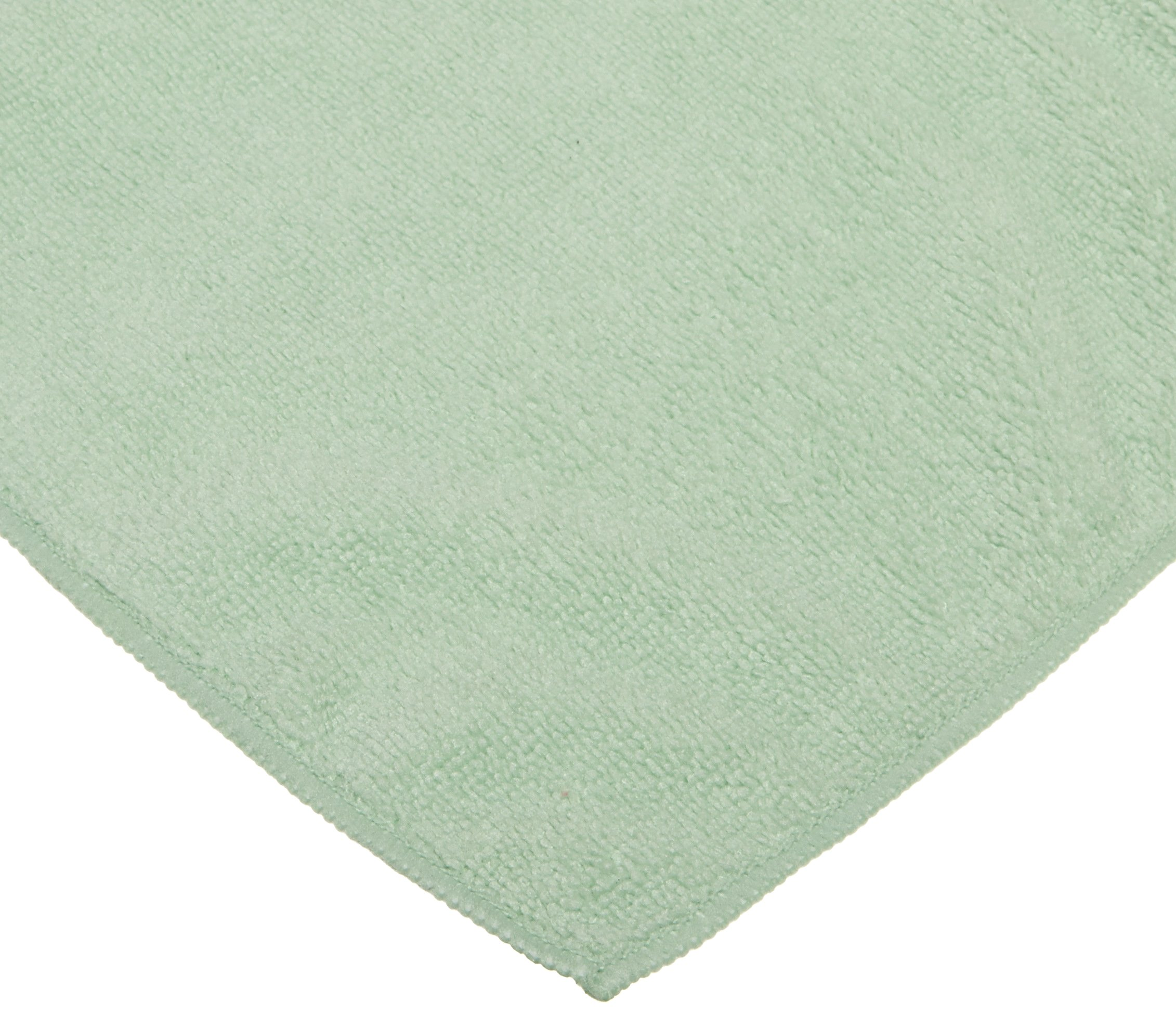 CPI MCLOTH G General Purpose Microfiber Cloth, 16-Inch x 16-Inch, Green (Pack of 12)