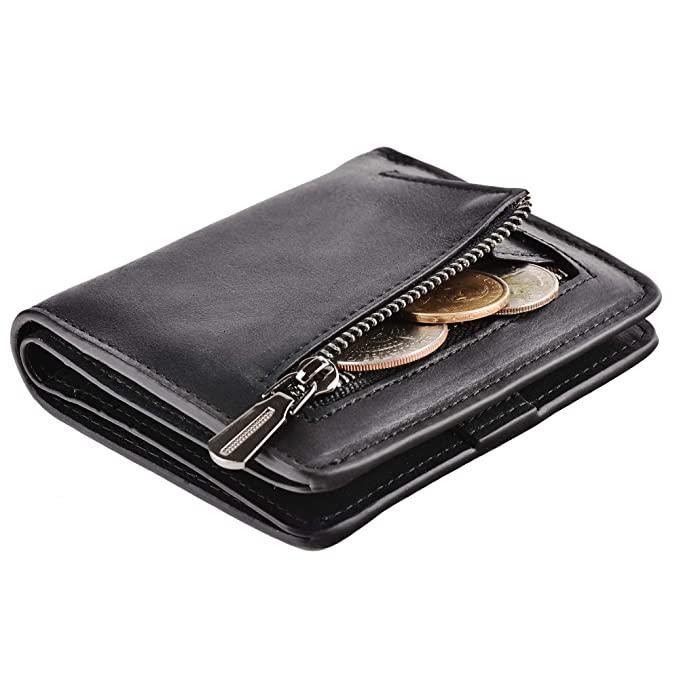 b4dfb71b28b Accordion Wallet RFID Leather Card Wallet for Women Credit Card Holder