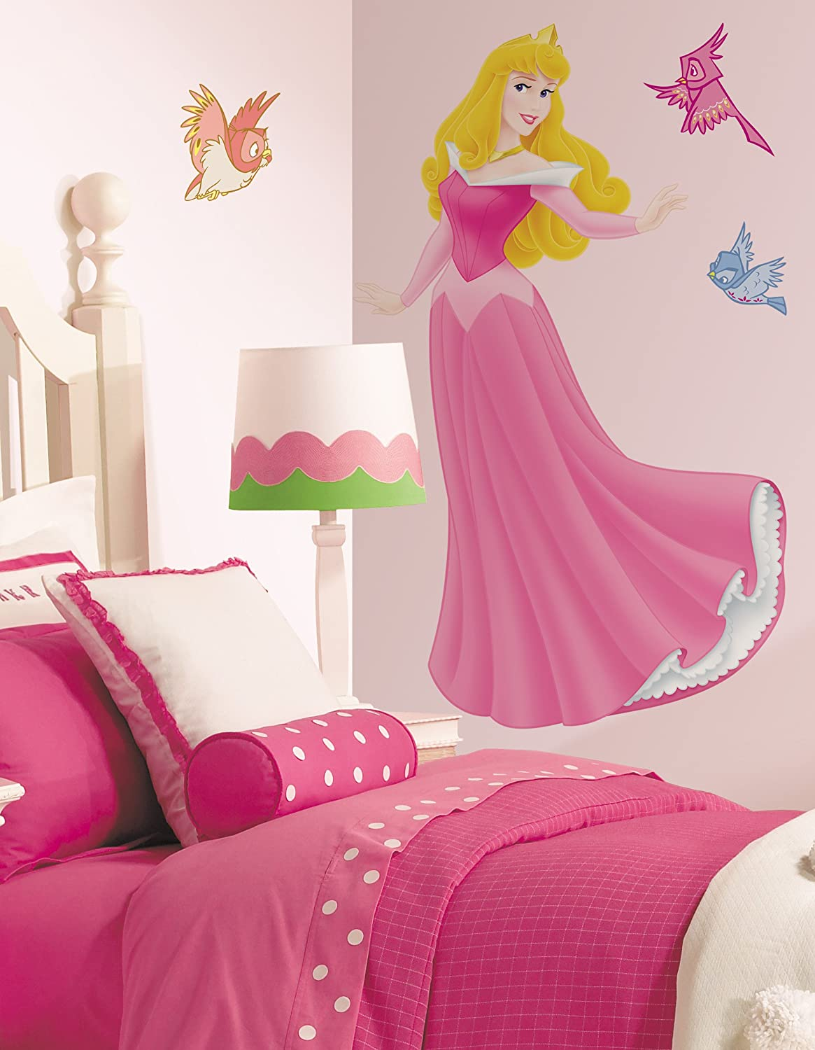 RoomMates Disney Princess Sleeping Beauty Giant Wall Sticker: Amazon.co.uk:  Baby