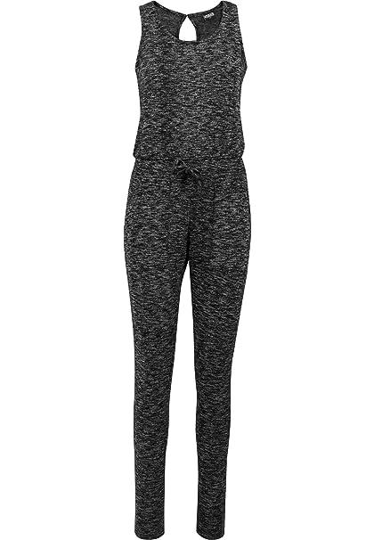 438637899e Urban Classics Damen Ladies Melange Jumpsuit