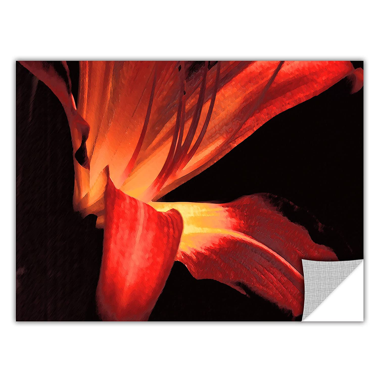 ArtWall 0uhl149a1824p Appealz Dean Uhlinger Blossom Glow Removable Graphic Wall Art 18 by 24-Inch