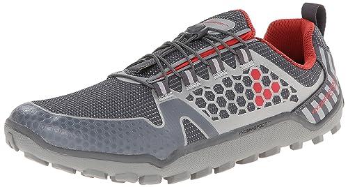 Vivo Barefoot - Zapatillas de Running para Hombre Gris: Amazon.es: Zapatos y complementos