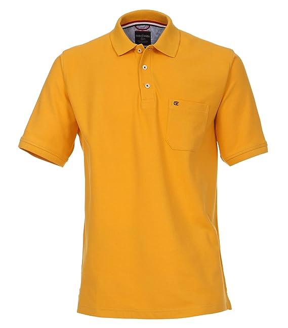 Casamoda 4270, Polo para Hombre, Naranja (Naranja 495), Large ...