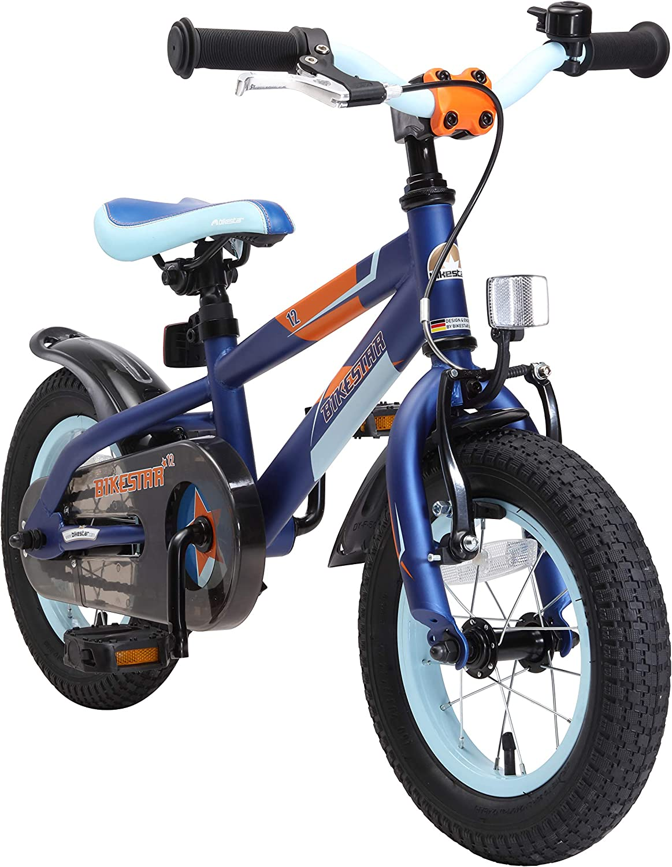 BIKESTAR Bicicleta Infantil para niños y niñas a Partir de 3 años | Bici de montaña 12 Pulgadas con Frenos | 12