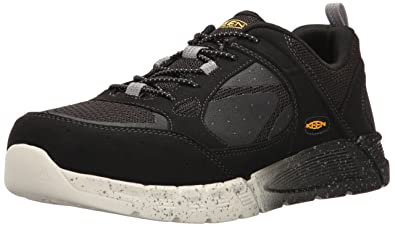 Keen Utility Men's Raleigh AT Industrial and Construction Shoe, Black/Raven,  ...