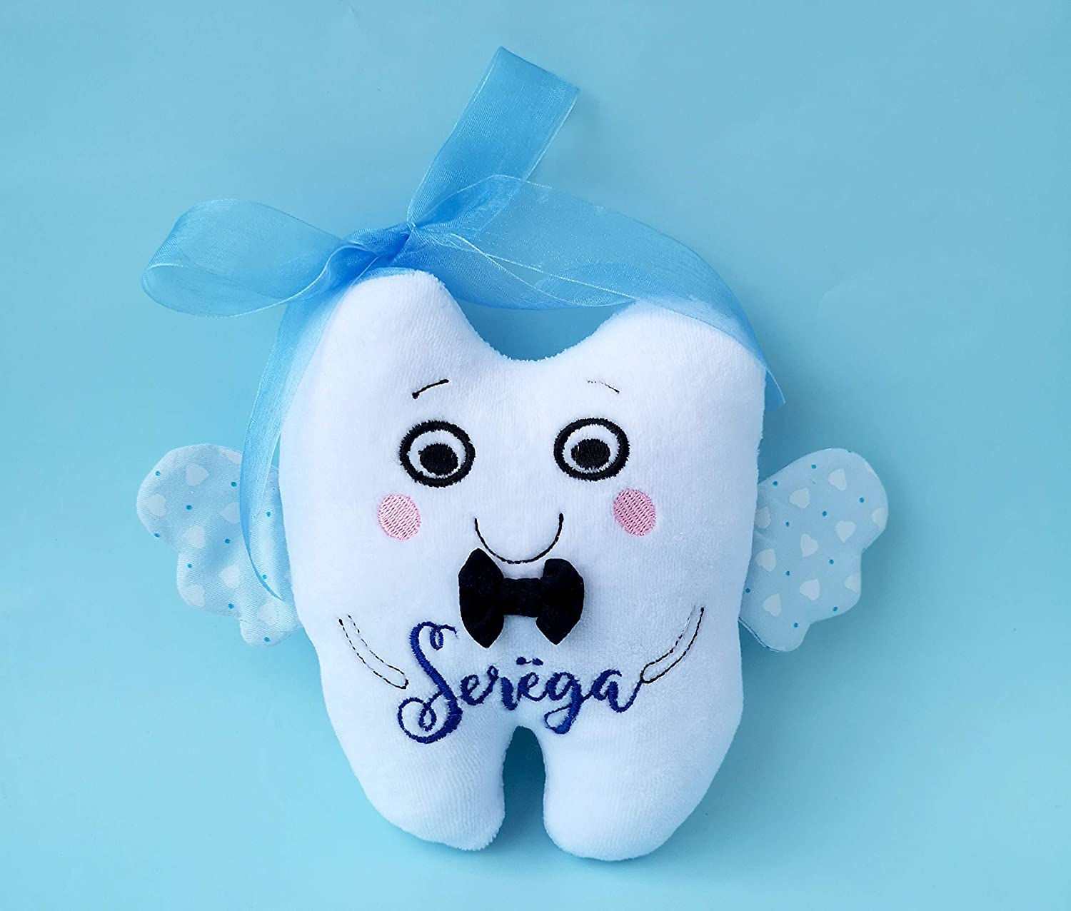 Boy or Girl Tooth Fairy Pillow Personalized Free Shipping Handmade