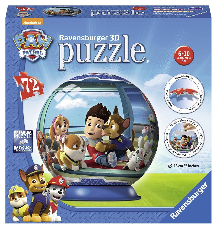 Ravensburger Paw Patrol, 72PC 3D Puzzle 12186