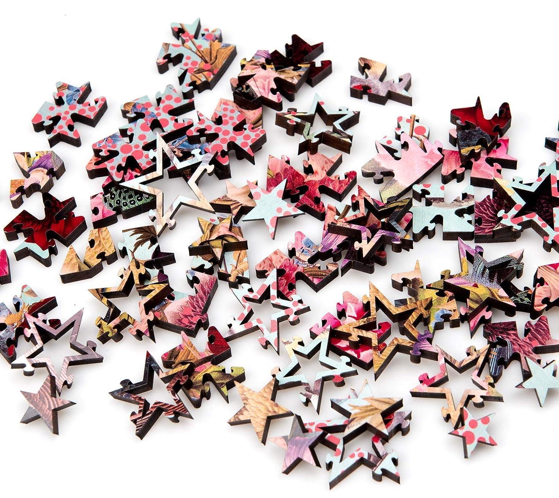 Starz Circular Wooden Jigsaw Puzzles Artist Alexandra Gallagher This Land