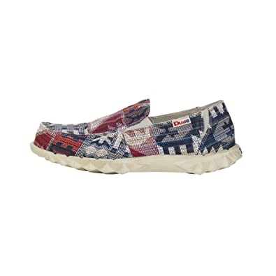 Dude Farty Print - Mocasines Hombre Multicolor Talla 44: Amazon.es: Zapatos y complementos