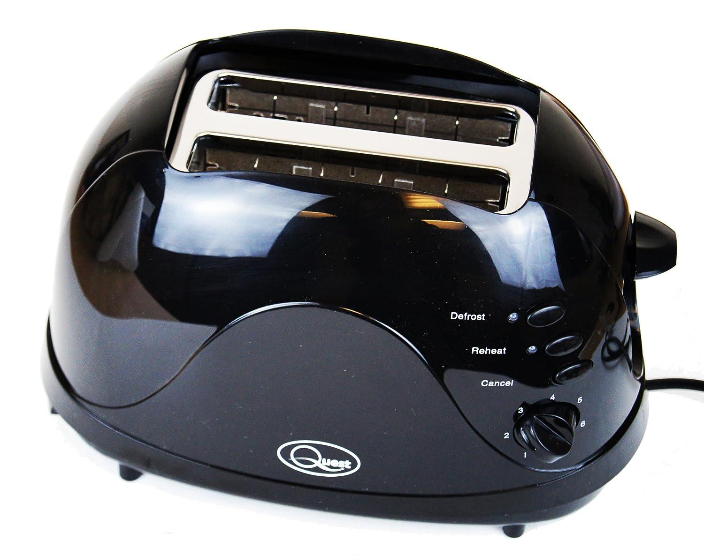 Black Cordless Jug Kettle 2 Slice Toaster /& Sandwich Toast Maker Kitchen Set in Black Red or White
