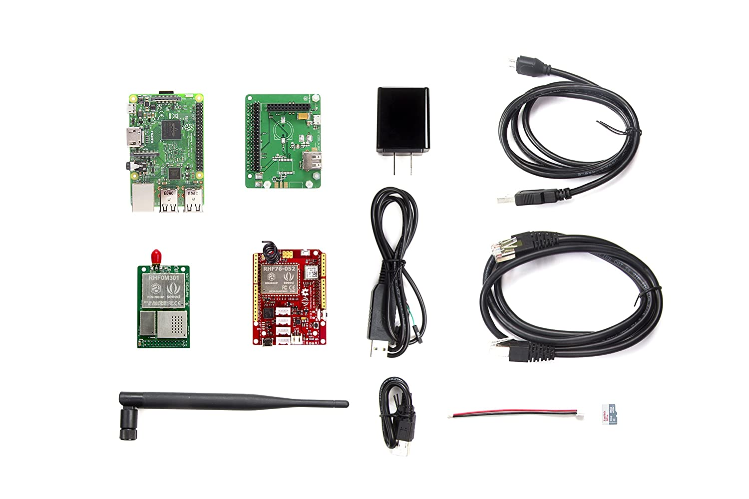 Seeedstudio LoRa LoRaWAN Gateway - 868MHz Kit with Raspberry Pi 3