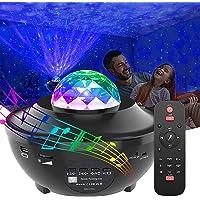 Langguth Led-projector, sterrenhemel projector, afstandsbediening, bluetooth-nachtlampje, watergolvend effect…